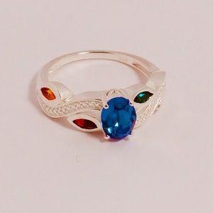 Jewelry - 💝🎅🎄✨💍✨ Leaf -Sterling Silver-SWAROVSKI